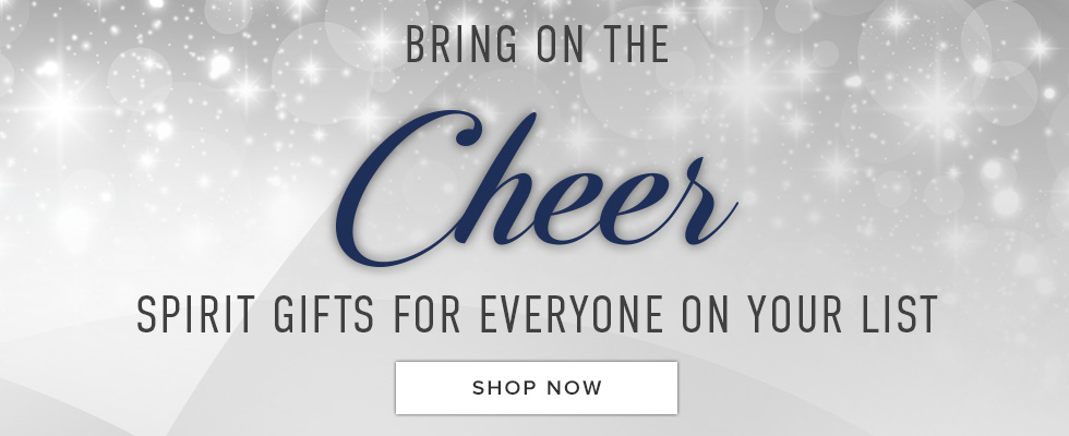 Bring on the cheer. Spirit gifts for everyone on your list. Click to shop now.