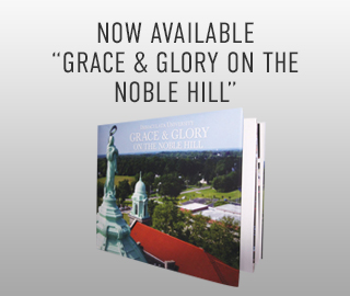 Picture of book. Now available: Grace & Glory on the Noble Hill.